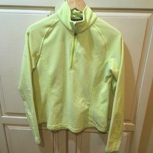 Mountain hardwear fleece sweatshirt jacket m